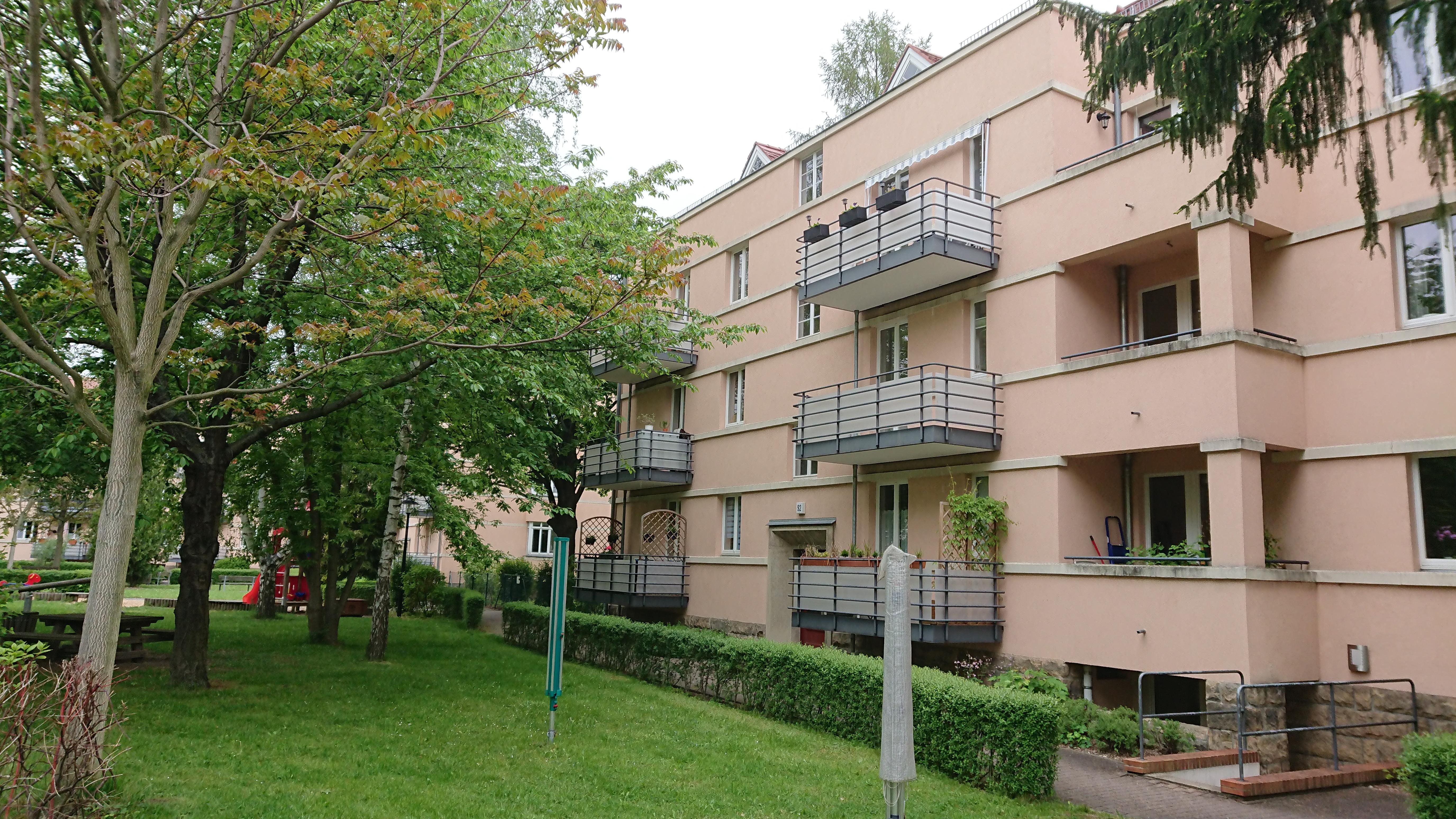 Hübsche 3-Raum-Wohnung mit Balkon